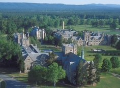 (Martha) Berry College -One woman started a school for underprivileged boys in the rural mountains of Georgia and it developed into a acre, now college, campus financed in part by Henry Ford himself. Rome Georgia, Georgia Usa, Georgia On My Mind, College Years, College Campus, Places To See, Places Ive Been, Berry College, Remember The Titans