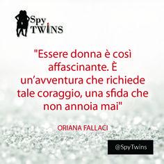 Un'avventura bellissima #spytwins #spymission #spyquotes #quotes #women #lifetrip #motivation