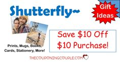 WOW! Get $10 off a $10 purchase at Shutterfly! Great gift ideas! Remember, Mother's Day will be here soon!  Click the link below to get all of the details ► http://www.thecouponingcouple.com/10-off-10-purchase-at-shutterfly/ #Coupons #Couponing #CouponCommunity  Visit us at http://www.thecouponingcouple.com for more great posts!