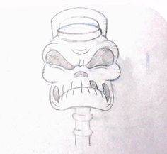 Here's Cuphead's spooky Train Conductor Skeleton to kick off October!
