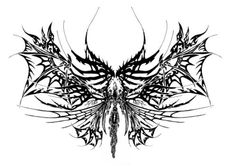 line drawing for tattoo design butterfly dragon flys flames Dope Tattoos, Dream Tattoos, Pretty Tattoos, Future Tattoos, Body Art Tattoos, Tribal Tattoos, Small Tattoos, Fairy Wing Tattoos, Tattos