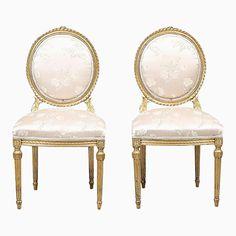 Antike Stühle im Louis XVI Stil, 2er Set Jetzt bestellen unter: https://moebel.ladendirekt.de/kueche-und-esszimmer/stuehle-und-hocker/esszimmerstuehle/?uid=23016ddc-2f8d-506c-8c1a-8b28bc02ec1e&utm_source=pinterest&utm_medium=pin&utm_campaign=boards #kueche #sets #esszimmerstuehle #esszimmer #hocker #stuehle Bild Quelle: pamono.com