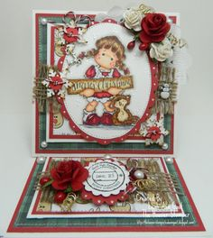 Magnolia's Merry Little Christmas Tilda with by thehoosierstamper, $10.95
