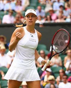 Tennis in Wimbledon live: Angelique Kerber und die Zverev-Brüder Angelique Kerber, Us Open, Australian Open, Ajla Tomljanovic, Angie Kerber, Fed Cup, Tennis Players Female, 2 Girl, All News