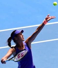 Ana Ivanovic Day 1 of the Australian Open 2015 January 19-2015 #WTA #Ivanovic #AUSOpen