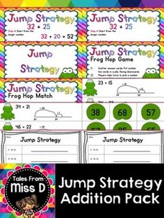 Split Strategy | Worksheets, Math and Teaching ideas