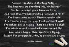 Summer Vacation Poem - Funtastic Life