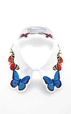 Fauna Embroidered Collar by Vivetta Now Available on Moda Operandi
