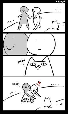 This is so me 😁 Want more cute kittens? Click the photo for more! ) ) This is so me 😁 Want more cute kittens? Click the photo for more! Memes Chats, Cat Memes, Animal Memes, Funny Animals, Cute Animals, Baby Animals, Cat Comics, Funny Comics, Funny Animal Comics