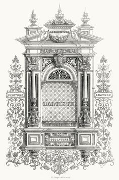C. E. Clerget, frontispiece from L'Artiste, 2nd series, vol. 3, Paris, 1839. (Source: archive.org)