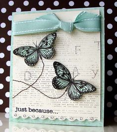 Lucy's Cards: Butterflies