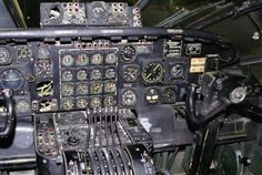 Convair B-36J Peacemaker cockpit