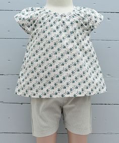 Bunny Organic Top & Shorts @zulily