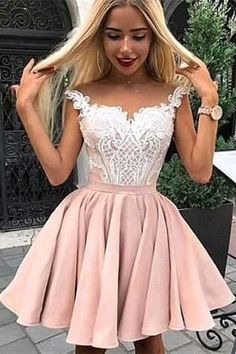 Cap Sleeves Dusty Pink Cheap Homecoming Dresses Online, Cheap Short Prom Dresses, - Source by - Cheap Short Prom Dresses, Cheap Homecoming Dresses, Hoco Dresses, Sexy Dresses, Graduation Dresses, Formal Dresses, Summer Dresses, Wedding Dresses, Pink Dresses