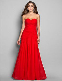 Trumpet/Mermaid Sweetheart Floor-length Chiffon Evening/Prom... – EUR € 123.74