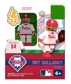 Roy Halladay - Philadelphia Phillies, Minifigure