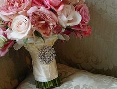 The Cinderella Bouquet  Set Availabale by whiteriver51 on Etsy, $425.00