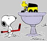 Snoopy and Woodstock Zamboni