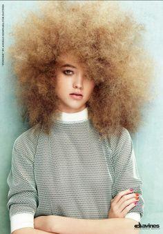 Collection: Powder || Hair: Angelo Seminara || Davines 2012