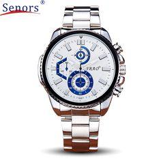 relogio masculino erkek kol saati reloj mujer Watch Stainless Steel Band Waterproof Quartz Business Wristwatch Hot    SEP28 #Affiliate