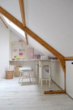 A Creative Attic Craft Room - Heart Handmade