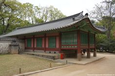 The colors of red and green are used at Jongmyo shrine 종묘대제 to symbolize solemnity, piety, and sublimity because bright colors would not all...