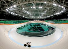Featuring modern lines, the Olympic Velodrome is the stage for the Rio 2016 track cycling competitions. After the Games, the facilities, built for the event, will be used as a training centre for high performance athletes.