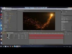 Adobe After Effects - Particle path with Optical flares, smoke TUTORIAL! (Trapcode) - YouTube