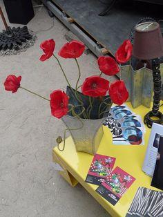 #cote #sur #yellow #zinc #table #vase #VITELLARO #NICOLAS
