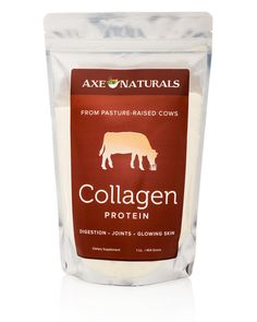 Axe Naturals™ Collagen Protein helps TIGHTEN, TONE and REPAIR your Tendons, Ligaments, Muscle Tissues, Healthy Digestion and Glowing Skin.
