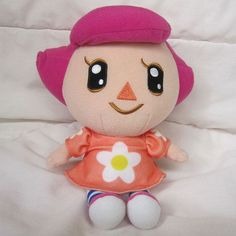 "Animal Crossing Wild World girl 7"" plush Nintendo 2007 doll toy ..."