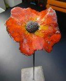 Fleur sur tige - création iskia
