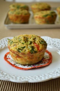 Muffins de quinoa y vegetales