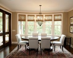 Dining Rooms - Window Coverings