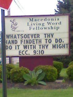 Unintentionally Sexual Church Signs.