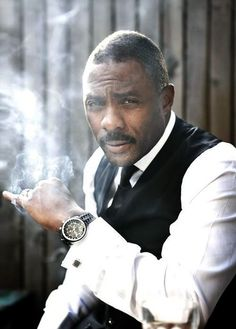 idris elba-now this man looks good in anything to me.lol, but, very suave here Men In Black, Black Is Beautiful, Gorgeous Men, Gta San Andreas, Look Girl, Ex Machina, Hommes Sexy, Raining Men, My Guy