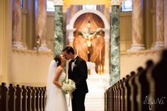 Sioux Falls Wedding | Deja Vu Photography | St. Joseph's Cathedral | Portrait
