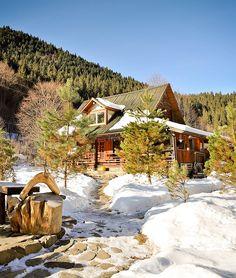 adelaparvu.com acerca casa rústica con jardín cerca de Piatra Neamt, paisaje de invierno, Foto Romulus Boicu (1)