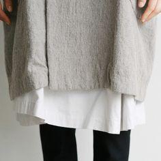 #neutralhuesfashion♥ | black and grey and white tunics