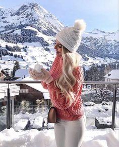37+ Outfits con Gorros para el Invierno que te Encantarán 3d583e63299