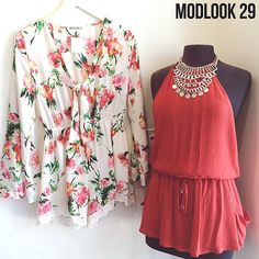 Rompers and dresses for summer ! Available at modlook29 boutique and modlook29.com