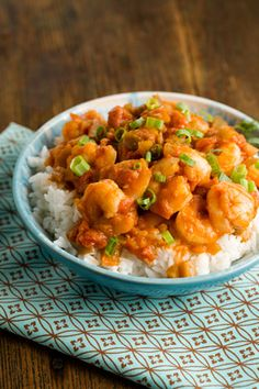 Paula Deen Shrimp Creole - yummy Lenten meal! I actually used 2 cans diced chile peppers since I didn't have a bell pepper or onion. Good with rice or pasta!