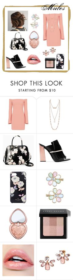 """Untitled #24"" by cheatwood ❤ liked on Polyvore featuring Cinq à Sept, Kate Spade, Proenza Schouler, Monsoon, Too Faced Cosmetics, Bobbi Brown Cosmetics and Marchesa"