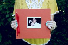 Have guests take a picture of themselves with a polaroid camera and sign it with a Sharpie - DIY picture guest book!