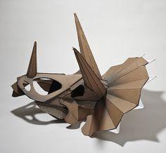 MANTA Contemporary Art Gallery: FROM CARDBOARD