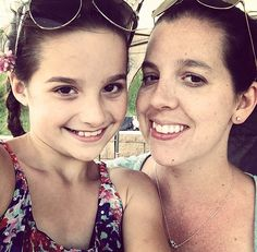 Pretty picture of Annie and her mom!