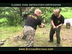 Spetsnaz Training - Sword Fighting Techniques