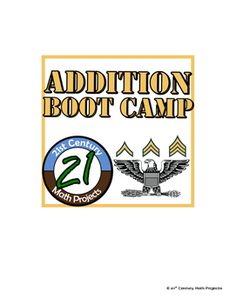 Addition Boot Camp -- Differentiated Addition Practice Ass