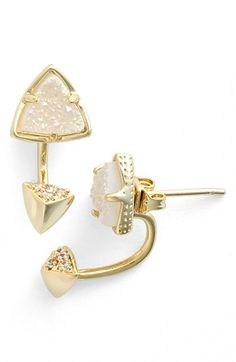 Kendra Scott 'Brindley' Drop Back Earrings available at #Nordstrom
