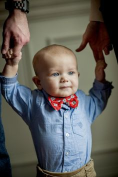 Baby Bow Tie Giveaway from Lolly Lu Designs {4 winners!}